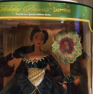 Disney Aladdin Holiday Princess Jasmine Barbie